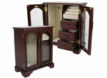 The Rosemore Jewelry Box in Mahogany - JBQ-CL554