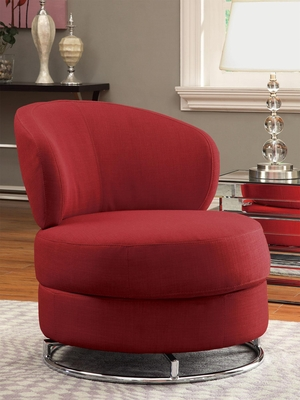 Thick Padded Accent Chair - 902104