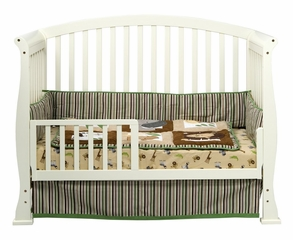 Thompson 4-in-1 Convertible Crib - DaVinci Furniture - M3201