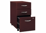 Three-Drawer File (Assembled) - Series C Mahogany Collection - Bush Office Furniture - WC36753SU