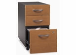 Three-Drawer File (Assembled) - Series C Natural Cherry Collection - Bush Office Furniture - WC72453SU
