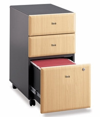 Three-Drawer File - Series A Beech Collection - Bush Office Furniture - WC14353