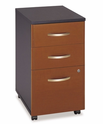 Three-Drawer File - Series C Auburn Maple Collection - Bush Office Furniture - WC48553