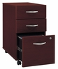 Three-Drawer File - Series C Mahogany Collection - Bush Office Furniture - WC36753