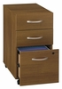 Three-Drawer File - Series C Warm Oak Collection - Bush Office Furniture - WC67553