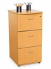 Three Drawer File with Lock - OFM - 55505