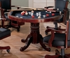 Three-in-One Game Table in Cherry - Coaster