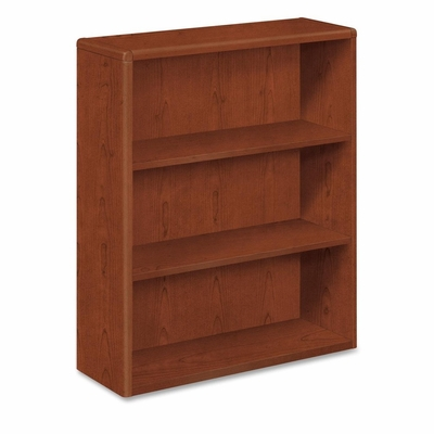 Three-Shelf Bookcase - Cherry - HON10753J