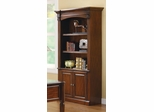 Three Shelf Bookcase with Cabinet  - 800469