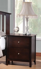 Tia 2 Drawer Nightstand - 202082