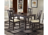 Tiburon 5-Piece Dining Room Furniture Set - Hillsdale Furniture - 4917DTBC