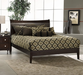 Tiburon Bentwood Queen Size Platform Bed - Hillsdale Furniture - 1418507PLTB