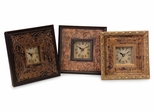 Tiempo Trio Framed Clocks (Set of 3) - IMAX - 21041-3