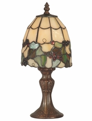 Tiff Grape Accent Lamp - Dale Tiffany - TA70709