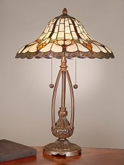 Tiffany Lamp - Dale Tiffany Esterlund Table Lamp - TT101374