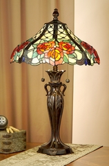 Tiffany Lamp - Dale Tiffany Hazlett Table Lamp - TT100910