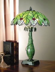 Tiffany Lamp - Dale Tiffany Robey Table Lamp - TT101007