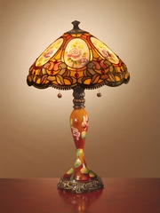 Tiffany Lamp - Dale Tiffany Scoville Table Lamp - TT101164