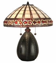 Tiffany Table Lamp - Dale Tiffany - TT90019