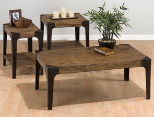 Timber Elm Occasional Table Set - 3PC - 406-1