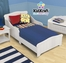 Toddler Bed - Nantucket White Toddler Bed - KidKraft Furniture - 86621