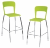 Tone Barstool Green (Set of 2) - LumiSource - BS-TONE-GN2