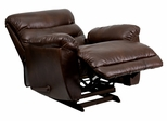 Tonto Espresso Bonded Leather Rocker Recliner - AM-9030-5121-GG