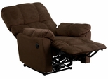 Top Hat Chocolate Microfiber Power Recliner - AM-P9320-4171-GG