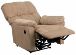 Top Hat Coffee Microfiber Power Recliner - AM-P9320-4172-GG