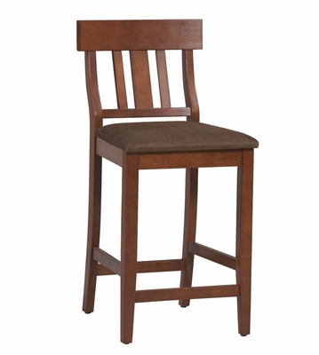Torino Slat Back Counter Stool 24