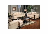 Toronto Chair, Ottoman, Sofa and Loveseat Set Khaki - Largo - LARGO-WG-F0920-SET