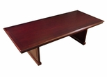 Toscana 8 Feet Rectangular Conference Table in Sierra Cherry - Mayline Office Furniture - TC96CRY