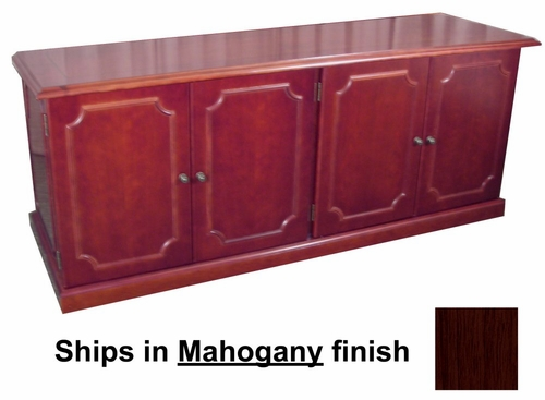 Toscana Low Wall Cabinet in Mahogany - Mayline Office Furniture - TLCMAH