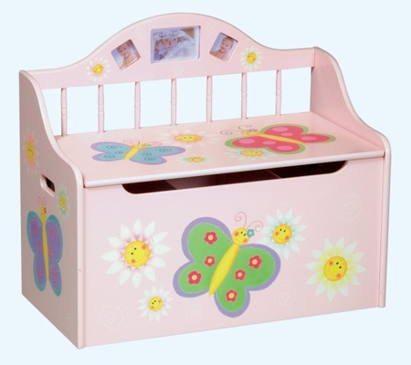 Toy Box - Butterfly Toy Box - Guidecraft - G83364