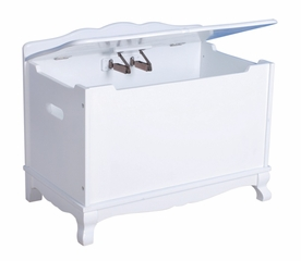 Toy Box - Classic White Toy Box in White Matte - Guidecraft - G85704