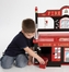 Toy Box - Firefighter Toy Box Bench - LOD20036