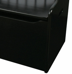 Toy Box - Limited Edition Toy Chest - Black - KidKraft Furniture - 14181