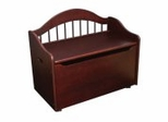 Toy Box - Limited Edition Toy Chest in Cherry - KidKraft Furniture - 14131