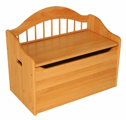 Toy Box - Limited Edition Toy Chest in Honey - KidKraft Furniture - 14141