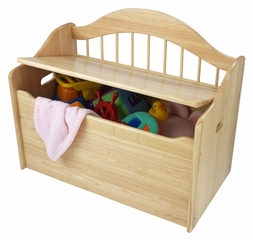Toy Box - Limited Edition Toy Chest in Natural - KidKraft Furniture - 14121