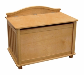 Toy Box - Mission Toy Box in Honey Oak Stain - Guidecraft - G85504