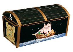 Toy Box - Pirate Toy Box - Guidecraft - G83704