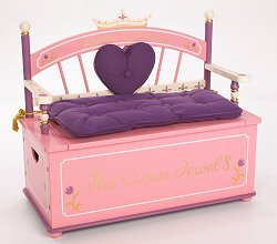 Toy Box - Princess Toy Box Bench - LOD20007