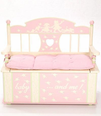 Toy Box - Rock-A-My-Baby Toy Box Bench - LOD20016