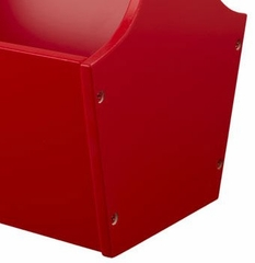 Toy Caddy in Red - KidKraft Furniture - 15902