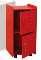 Toy Storage - Medium Locker in Red - KidKraft Furniture - 14322