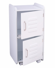 Toy Storage - Medium Locker in White - KidKraft Furniture - 14321
