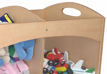 Toy Storage - See-Thru Bins in Natural - KidKraft Furniture - 15771