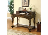Traditional Home Office Desk in Brown Cherry - 800390