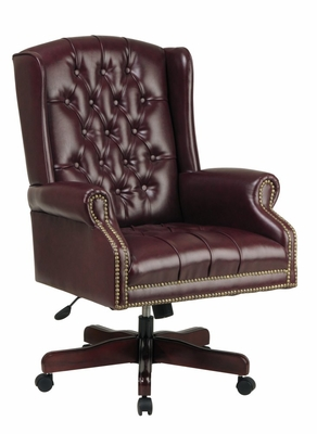 Traditional Office Chair - Deluxe High Back Traditional Executive Chair - Office Star - TEX220